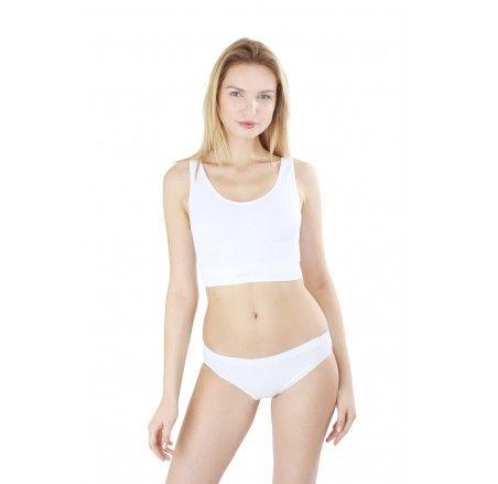 Seamless cotton panties