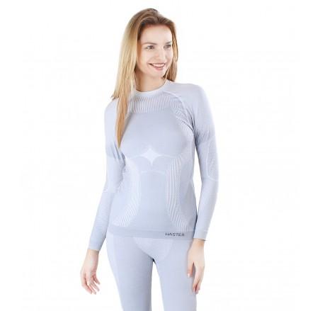 Damska koszulka termoaktywna bezszwowa ThermoClima