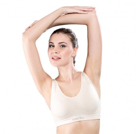Top ACTION BRA II with silver ions