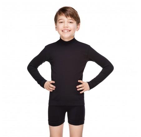 Bezszwowa, bawełniana koszulka dziecięca z długim rękawem JUNIOR