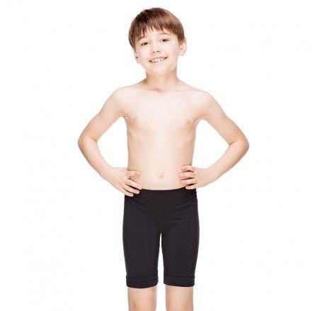 Bokserki bezszwowe, bawełniane chłopięce JUNIOR (dłuższa nogawka)