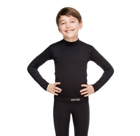 Dziecięca koszulka termoaktywna bezszwowa z długim rękawem JUNIOR
