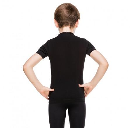 Dziecięca koszulka termoaktywna bezszwowa z krótkim rękawem JUNIOR