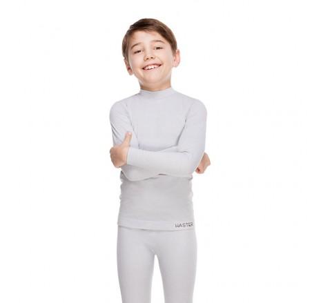 Dziecięca koszulka termoaktywna bezszwowa z długim rękawem supplex JUNIOR