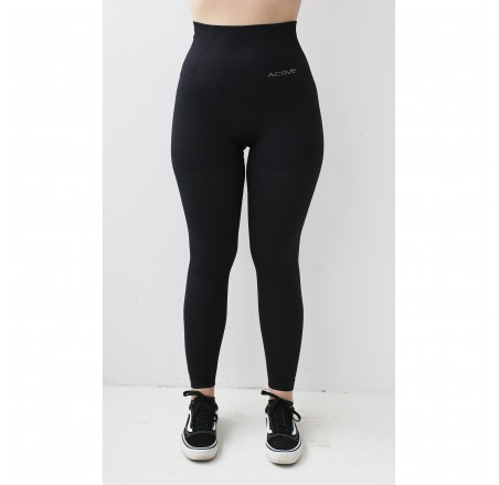 Legginsy bezszwowe BREEZE COMFY Black