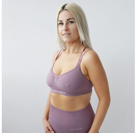 ACTIVE Breeze seamless bra with inserts Nostalgia Rose