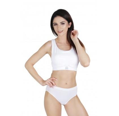 CONTROL BRA bra with sewn...