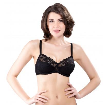 A soft, underwired bra,...