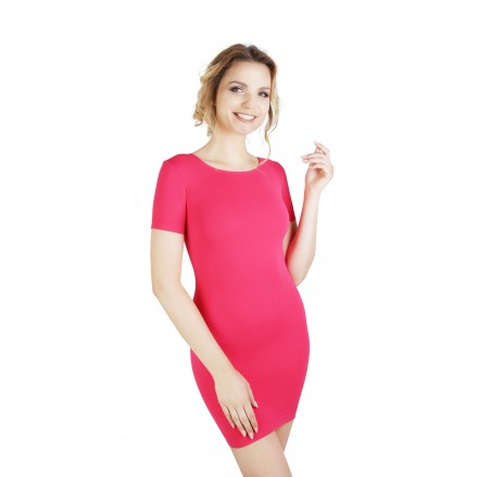 Sukienka korygująca krótki rękaw 1/2 uda