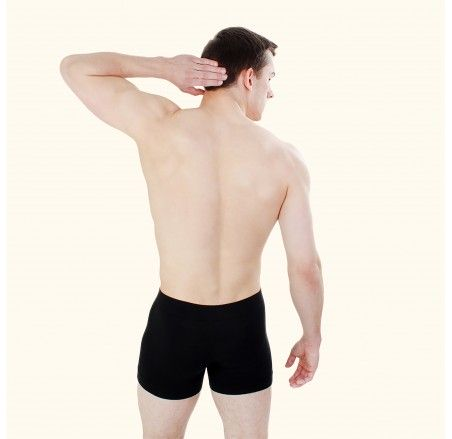 Seamless boxer shorts, cotton
