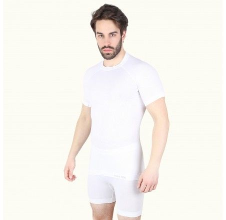 ADVENTURE LIGHT seamless short sleeve t-shirt with silver ions