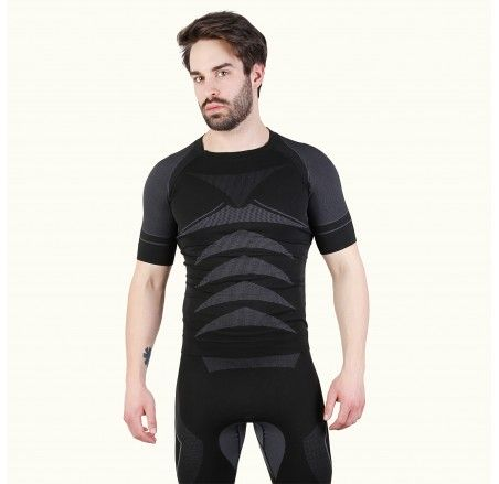 Thermoactive short-sleeved shirt, seamless DRYCLIMA