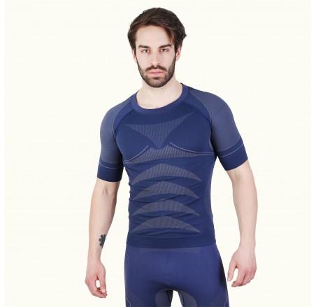 Koszulka termoaktywna krótki rękaw, bezszwowa DRYCLIMA