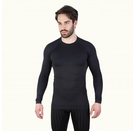 Long-sleeved thermoactive shirt, seamless ULTRACLIMA